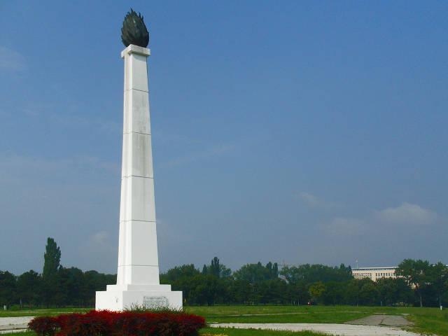 Uređenje Platoa Oko Spomenika Vecna Vatra Na Uscu