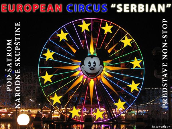 European circus Serbian