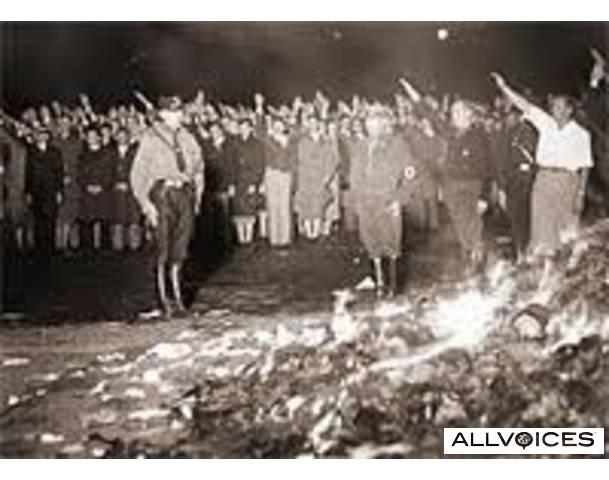 nazi-book-burning