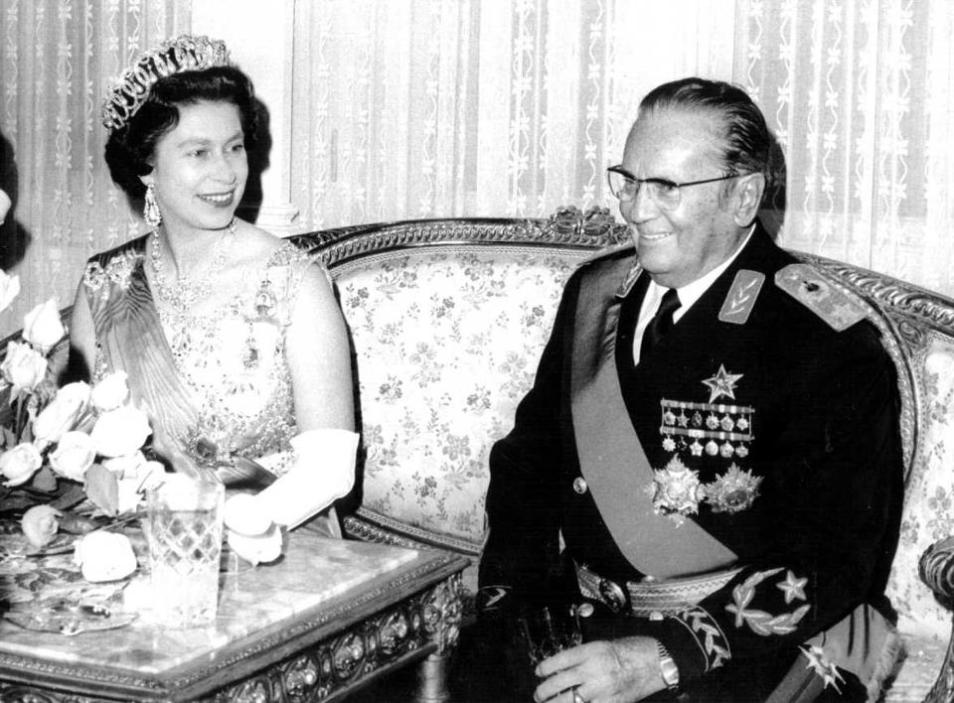 tito i engleska kraljica
