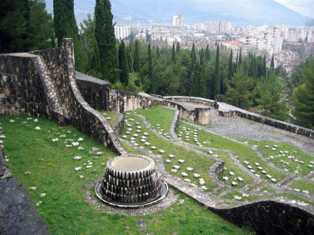 Bogdan Bogdanović Mostar-partizansko-groblje