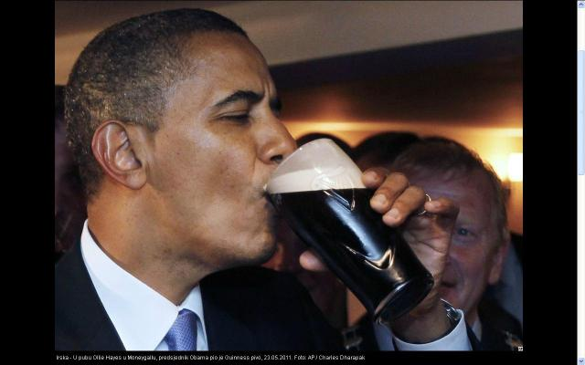 Obama vs Guinness