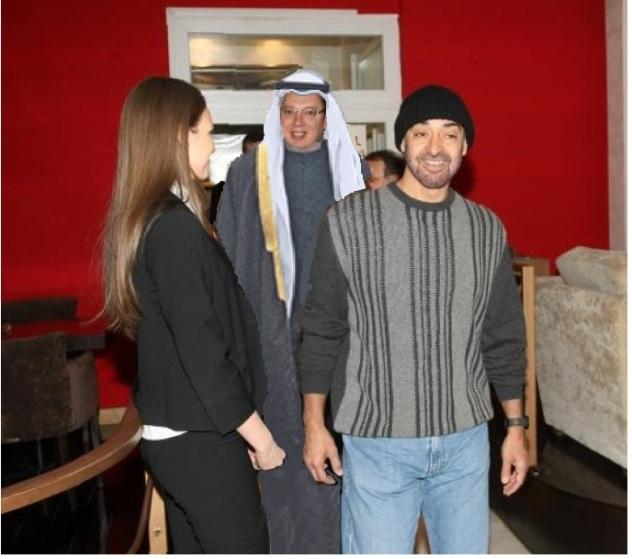 seici aleksandar bin zajeb i muhamed bin zajed