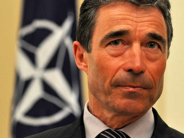 NATO Secretary-General Anders Fogh Rasmussen We share interests with Russia