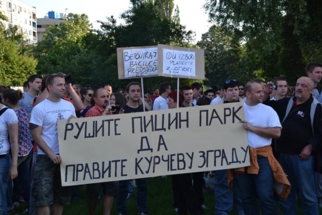 picin park protest