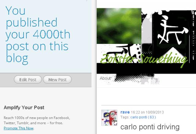 rave 4000th post