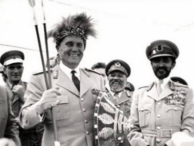 Tito i Haile Selasije