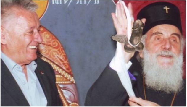 patrijarh irinej uricio ministru ilicu zoksterov orden prvoga sreda