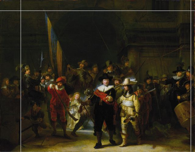 The Night Watch or The Shooting Company of Frans Banning Cocq