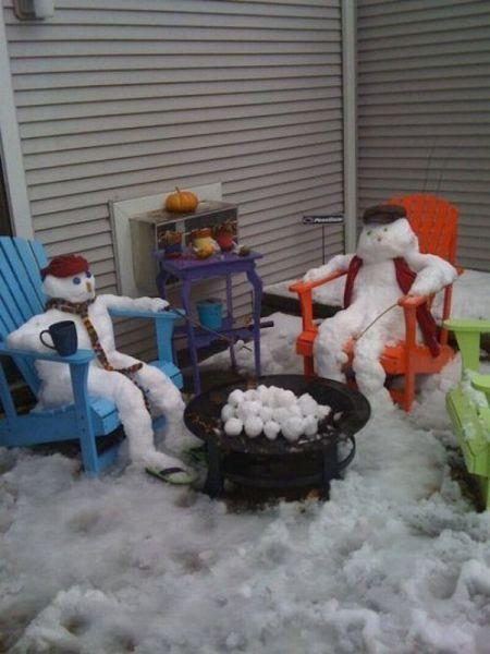 snowman roštilja