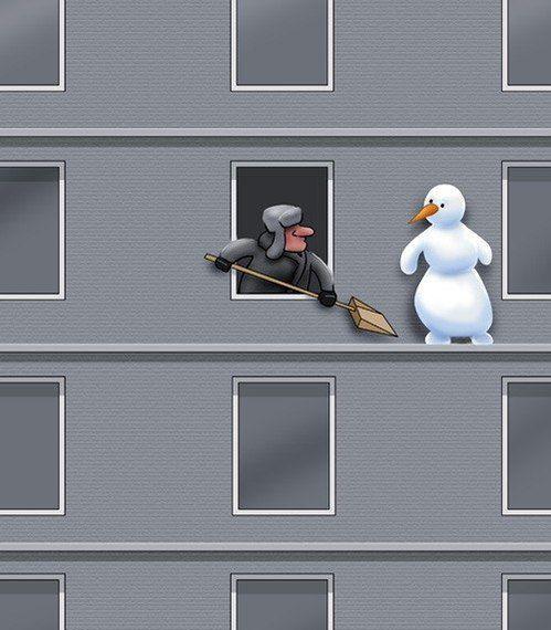 gde je snowman