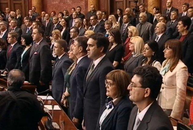 Poslanici u Skupštini Srbije položili zakletvu