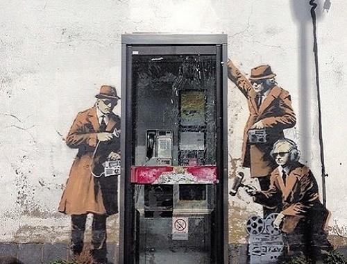 banksy tellefon
