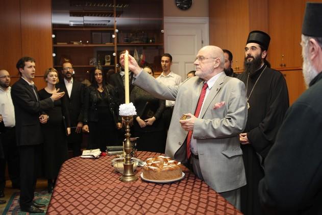 Akademija umetnosti u Beogradu obeležila je svoju krsnu slavu Svetog Jovana Zlatoustog