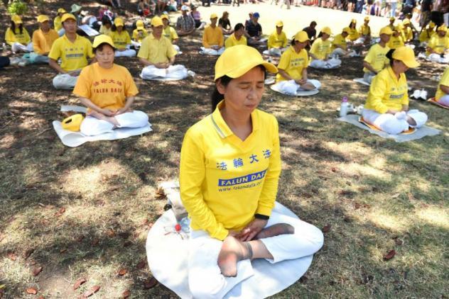 Deportovani aktivisti Falun Gonga