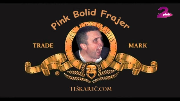 pink bolid frajer prikazuje