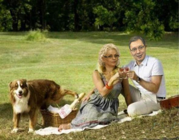 premijer guvernerka i tajanstveni pas