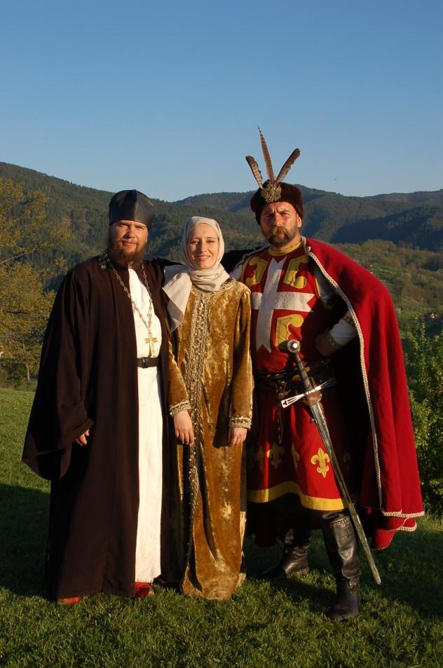 Sveti Sava, Ivana Zigon i Car Lazar