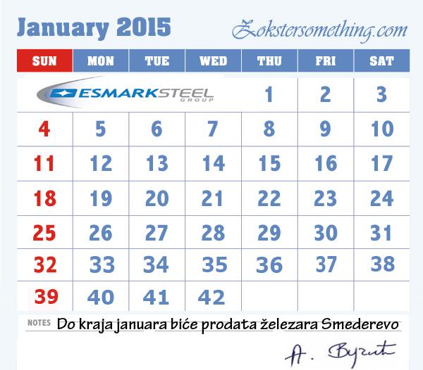 zokster kalendar