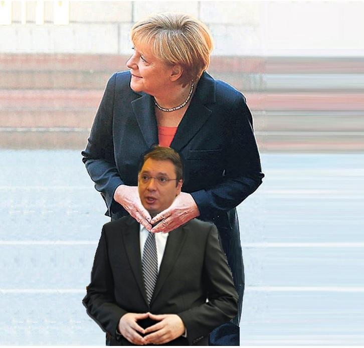 Doći će Angela Merkel, pa nju pitajte da li nama može neko nešto da naredi