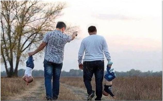 obecacemo kulu do neba tamo, nek vide deca da brinemo o njima