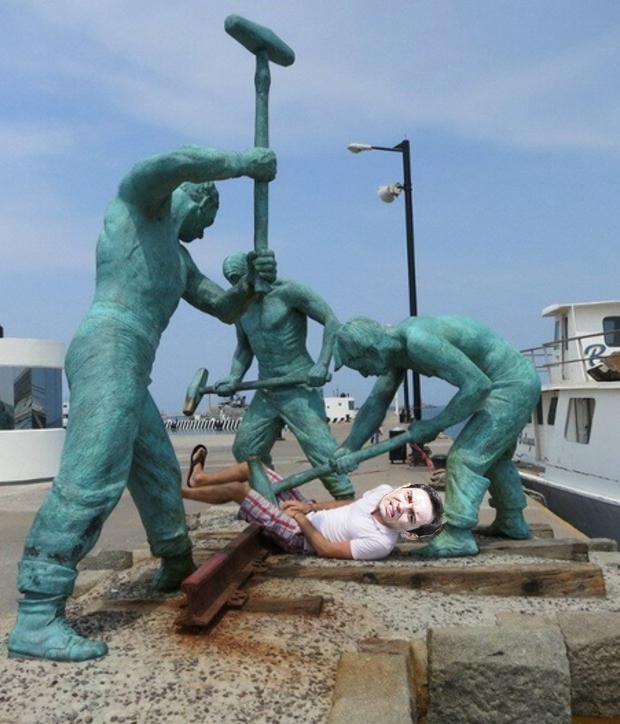 zokster skulptura