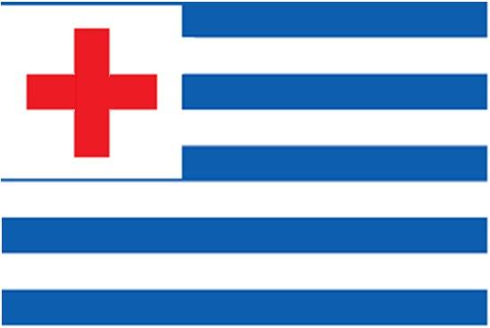 greek flag by muras