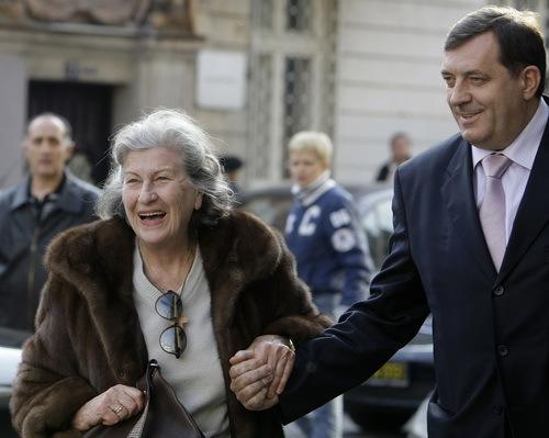 Biljana Plavsic, Milorad Dodik
