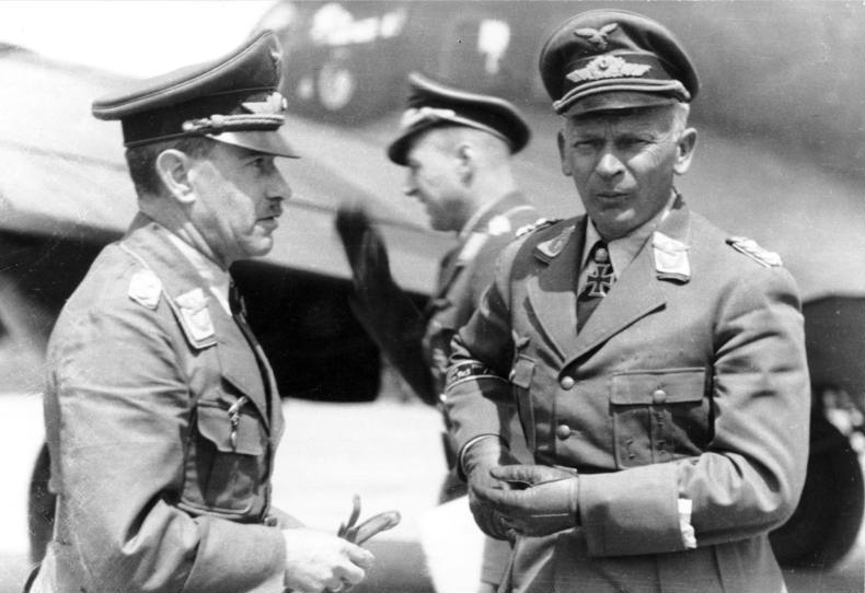 Russland, Generäle Löhr und W. v. Richthofen