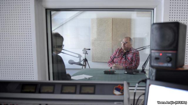 Nedim Sejdinović u razgovoru sa novinarkom RSE Brankom Mihajlović, maj 2016.