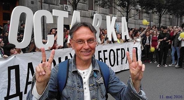 Gradjanski protest, 11. maj 2016