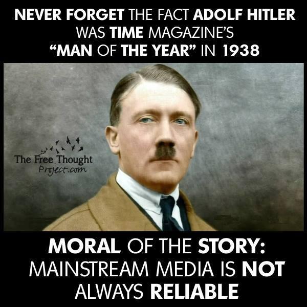 Time magazin Hitler