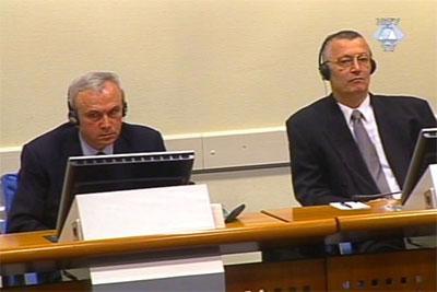 Organizatori pokolja i progona: Stanišić i Simatović